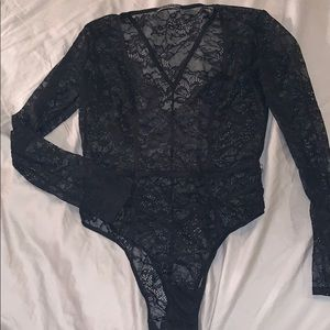 Victoria secret lace teddy